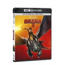 Blu-ray Jak vycvičit draka 2, UHD + BD, CZ dabing