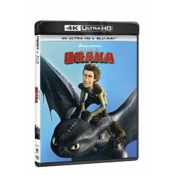 Blu-ray Jak vycvičit draka, UHD + BD, CZ dabing