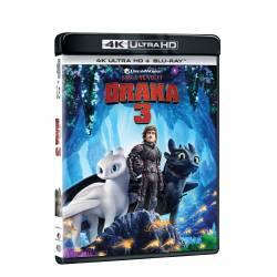 Blu-ray Jak vycvičit draka 3, UHD + BD, CZ dabing