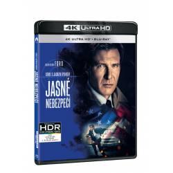 Blu-ray Jasné nebezpečí, UHD + BD, CZ dabing
