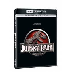 Blu-ray Jurský park, UHD + BD, CZ dabing