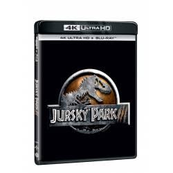 Blu-ray Jurský park 3, UHD + BD, CZ dabing