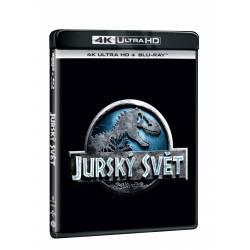 Blu-ray Jurský svět, UHD + BD, CZ dabing