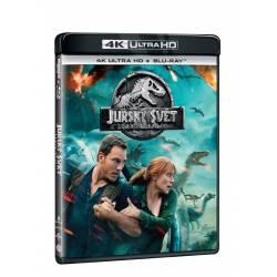 Blu-ray Jurský svět: zánik říše, UHD + BD, CZ dabing
