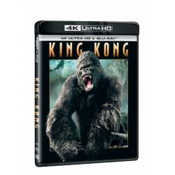 Blu-ray King Kong, UHD + BD, CZ dabing