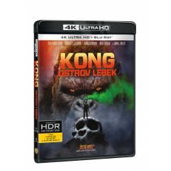 Blu-ray Kong: Ostrov lebek, UHD + BD, CZ dabing