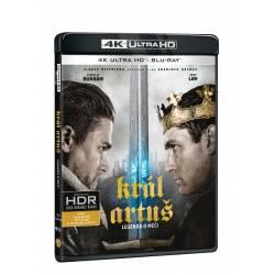 Blu-ray Král Artuš: Legenda o meči, UHD + BD, CZ dabing