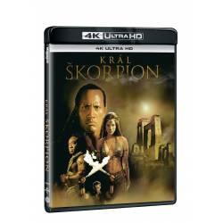 Blu-ray Král Škorpion, UHD, CZ dabing
