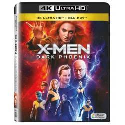 Blu-ray X men: Dark Phoenix, UHD + BD, CZ dabing