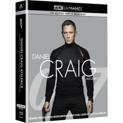 Blu-ray Daniel Craig: James Bond, 4UHD + 4BD, CZ dabing