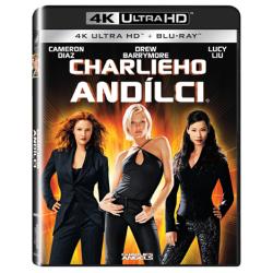 Blu-ray Charlieho andílci, UHD + BD, CZ dabing