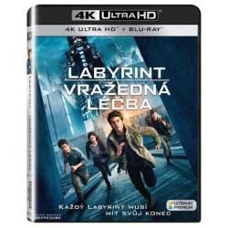Blu-ray Labyrint: Smrtelná liečba, UHD + BD, CZ dabing