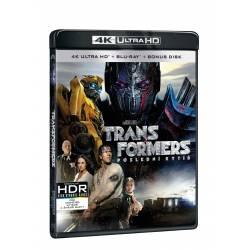 Blu-ray Transformers: Poslední rytíř, UHD + BD, CZ dabing