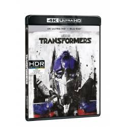 Blu-ray Transformers, UHD + BD, CZ dabing
