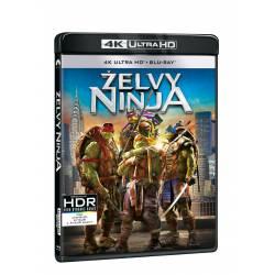 Blu-ray Želvy Ninja, UHD + BD, CZ dabing