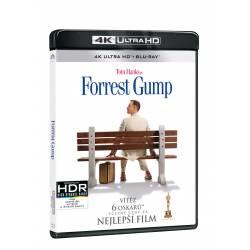 Blu-ray Forrest Gump, UHD + BD, CZ dabing