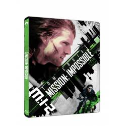 Blu-ray Mission Impossible 2 (steelbook), UHD + BD, CZ dabing