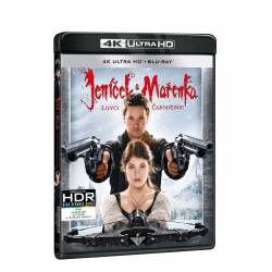 Blu-ray Janíček a Mařenka: lovci čarodějnic, UHD + BD, CZ dabing