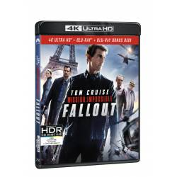 Blu-ray Mission Impossible: Fallout, UHD + BD + bonus disk, CZ dabing