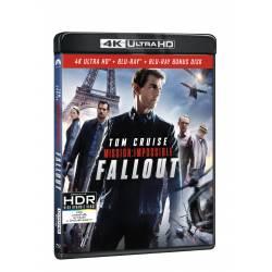 Blu-ray Mission Impossible: Fallout, UHD + BD + bonus disk, CZ dabing