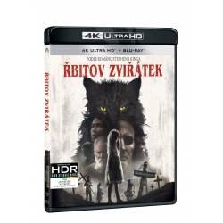 Blu-ray Řbitov zvířátek, UHD + BD, CZ dabing