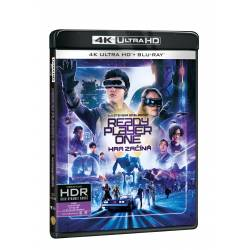 Blu-ray Ready Player One: Hra začíná, UHD + BD, CZ dabing