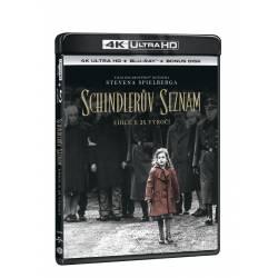 Blu-ray Schindlerův seznam výroční edice 25 let, UHD + BD + bonus disk, CZ dabing