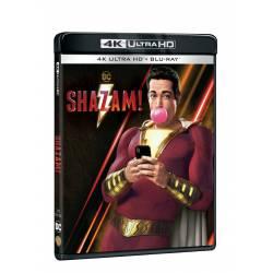 Blu-ray Shazam!, UHD + BD, CZ dabing