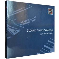CD/DVD 5 kanál Audio Ladislav Fanzowitz – Slovak Piano Sonatas