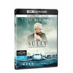 Blu-ray Sully: Zázrak na řece Hudson, UHD + BD, CZ dabing