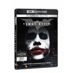 Blu-ray Temný rytíř, UHD + BD + bonus disk, CZ dabing