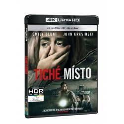 Blu-ray Tiché místo, UHD + BD, CZ dabing