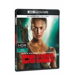 Blu-ray Tomb Raider, UHD + BD, CZ dabing