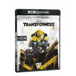 Blu-ray Transformers 3, UHD + BD, CZ dabing
