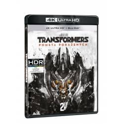 Blu-ray Transformers: Pomsta poražených, UHD + BD, CZ dabing