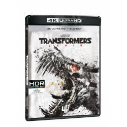 Blu-ray Transformers: Zánik, UHD + BD, CZ dabing
