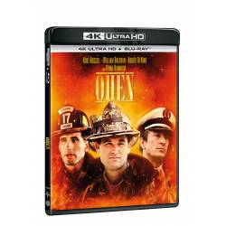 Blu-ray Oheň, UHD + BD, CZ dabing
