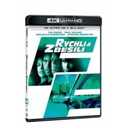 Blu-ray Rychlí a zběsilí, UHD + BD, CZ dabing