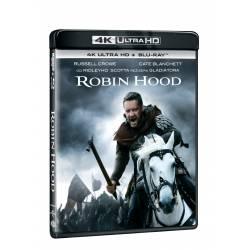 Blu-ray Robin Hood, UHD + BD, CZ dabing