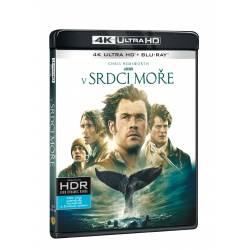 Blu-ray V srdci moře, UHD + BD, CZ dabing