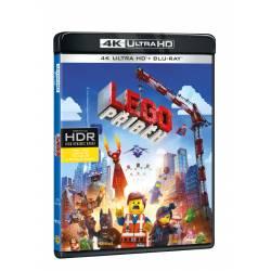 Blu-ray LEGO příběh, UHD + BD, CZ dabing