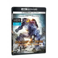 Blu-ray Pacific Rim: Útok na Zemi, UHD + BD, CZ dabing