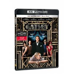 Blu-ray Velký Gatsby, UHD + BD, CZ dabing