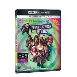 Blu-ray Sebevražední oddíl, UHD + BD, CZ dabing