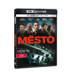 Blu-ray Město, UHD + BD, CZ dabing