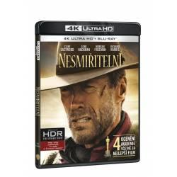 Blu-ray Nesmiřitelní, UHD + BD, CZ dabing