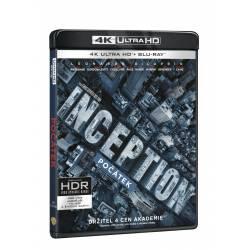 Blu-ray Počátek, UHD + BD + bonus disk, CZ dabing