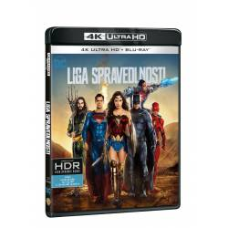 Blu-ray Liga spravedlnosti, UHD + BD, CZ dabing
