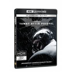 Blu-ray Temný rytíř povstal, UHD + BD + bonus disk, CZ dabing