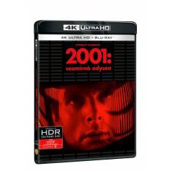 Blu-ray 2001: Vesmírná odysea, UHD + BD, CZ dabing